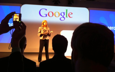 Google & Be Different event audience