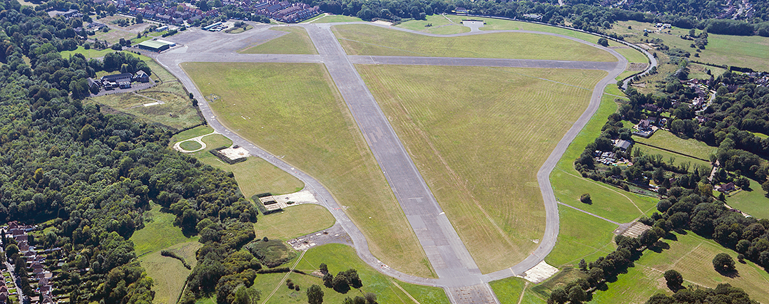 Our Surrey office is at Purley near Kenley Airfield